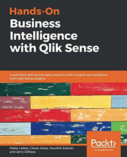 Hands-On Business Intelligence with Qlik Sense Front Cover