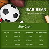 BABIBEAN Children Socks Boy Football Soccer Tube