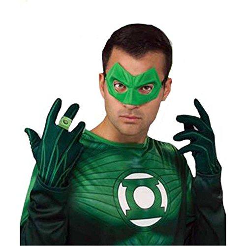 Green Lantern Gloves Costume Accessory