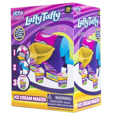 Belle Diy Halloween Costume (Laffy Taffy Ice Cream Maker Machine Toy - DIY Make Your Own Ice Cream - Creates Two Flavors at Once)