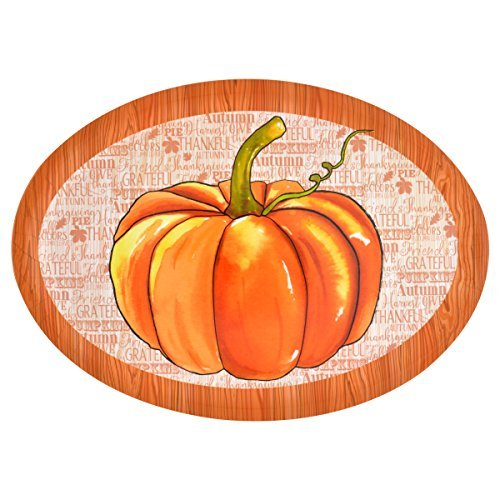 Autumn Harvest Serving Platter (Pumpkin)
