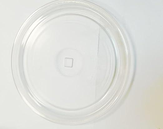 Plato Microondas Arrastre Tipo Cuadrado 32 Cm: Amazon.es: Hogar