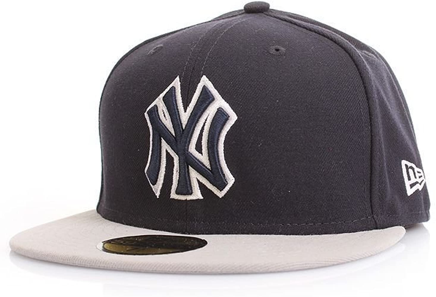 New Era ERA 59 fiftys monocol NY Yankees - Gorra de Marina Grey ...