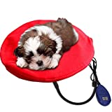 Lemonbest Pet Heated Bed Waterproof Electric Heating Pad Blanket For Dogs Cats With Chew Resistant Cord