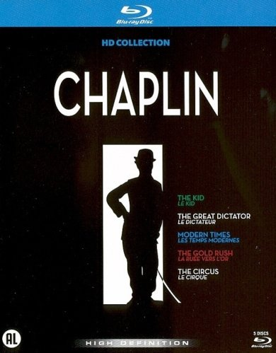 Chaplin HD-Collection ( The Kid / The Great Dictator / Modern Times / The Gold Rush / The Circus ) ( The Dictator / The Masses )