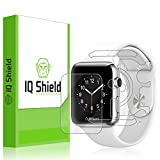 Apple Watch 38mm Screen Protector, IQ Shield LiQuidSkin Full Body Skin + Full Coverage Screen Protector for Apple Watch 38mm HD Clear Anti-Bubble Film - with