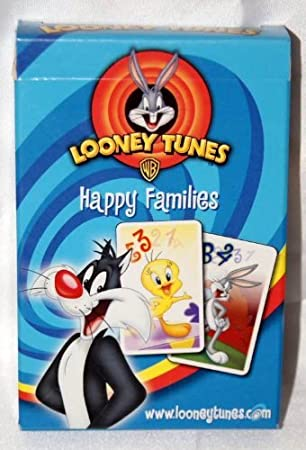 Amazon.com: Juego de cartas Piolín de Looney Tunes Happy ...