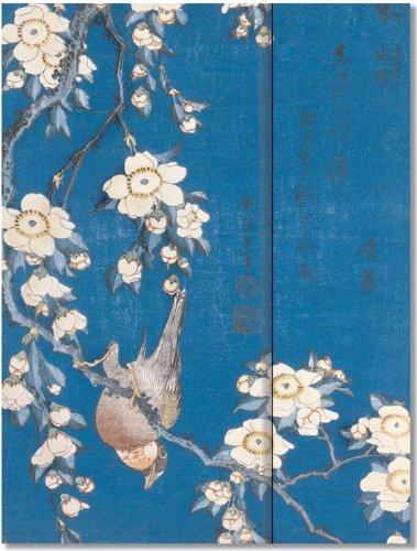 Download Bullfinch and Cherry Tree Journal (Notebook, Diary) (English, Spanish, French, Italian, German, Japanese, Chinese, Hindi and Korean Edition) pdf