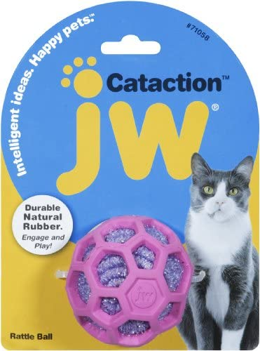 JW Pet Company Cataction Rattle Ball, Cat Toy 4