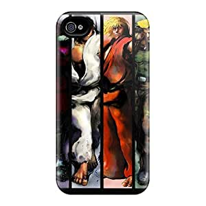 New Fashion Premium Tpu Case Cover For Iphone 5/5s - Street Fighter Iv