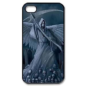 VNCASE Grim Reaper Phone Case For Iphone 4/4s [Pattern-1] hjbrhga1544