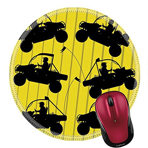 Price comparison product image Liili Round Mouse Pad Natural Rubber Mousepad All terrain vehicle quad motorbikes riders illustration collection background vector IMAGE ID 12045364