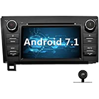 YINUO 7 inch Android 7.1.1 Nougat 2GB RAM Quad Core 2 Din Car Stereo HD Capacitive Touch Screen Car Radio Receiver DVD GPS Navigation for TOYOTA Tundra/Sequoia