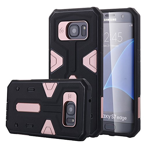 Shockproof Armor Case for Samsung Galaxy S7 Edge (Black) - 9