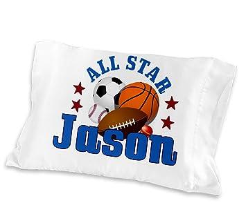 Amazon.com: Personalizada All Star Niños Deportes bebé ...