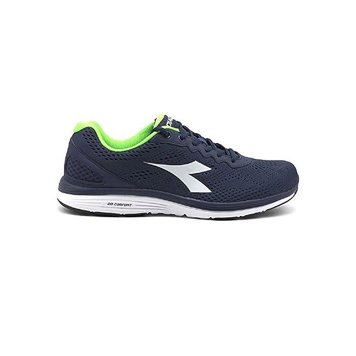 Diadora Scarpe Uomo Sneakers Swan 2 in Tela Blu 101171445-01-C2818 HbWAp1CJL