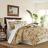 Tommy Bahama Siesta Key Comforter Set, Queen, Cantaloupe