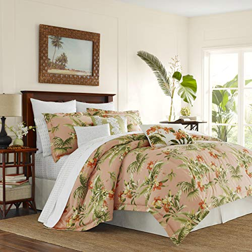Tommy Bahama Siesta Key Comforter Set, King, Cantaloupe (Bedding Sets Tommy)