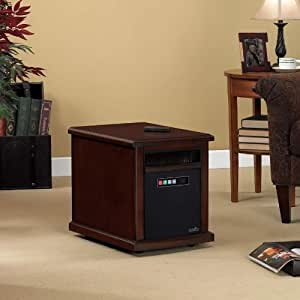 Duraflame Colby 1000 Sq Ft Infrared Quartz Electric Heater - Cherry