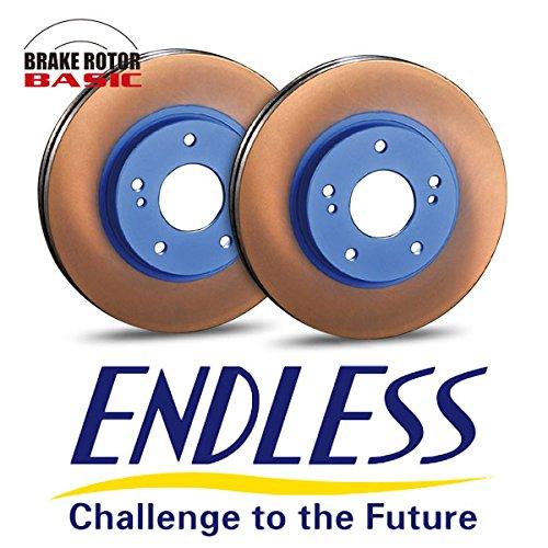 ENDLESS エンドレス ブレーキローター BASIC (ベーシック) フロント用 左右セット (シビック EK9 97.8~ TYPE-R) B07CMPNGJB