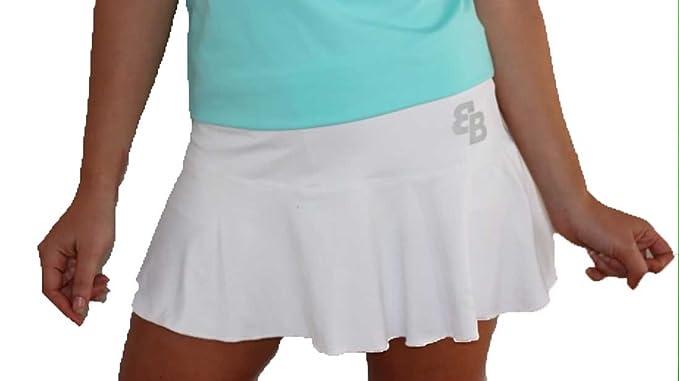 Falda Basica Chica Blanca para Tenis Y Padel - XL: Amazon.es ...