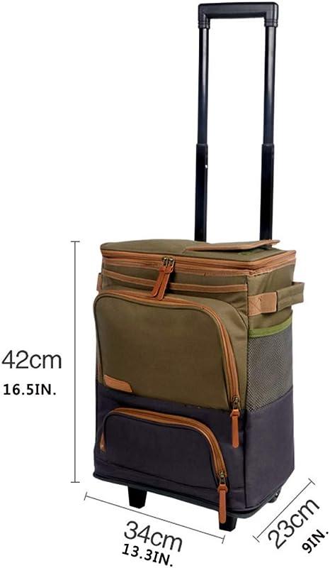 LHY TRAVEL Gran Picnic Cooler Bag Compartimiento de refrigeración ...