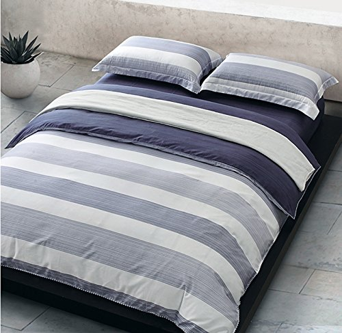 modern duvet covers vancouver cheap cabana stripe cover cotton twill bedding set geometric white navy distressed rugby stripes print dusty blue shades reversible king