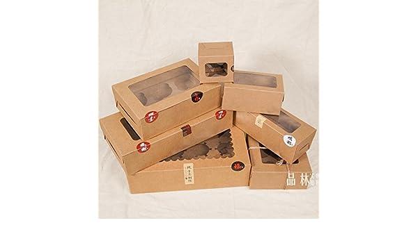 XLPD - Caja de cartón para Manualidades, 10 Unidades, PVC, Caja de ...