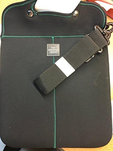 sharper-image-neoprene-laptop-case-15-black-green
