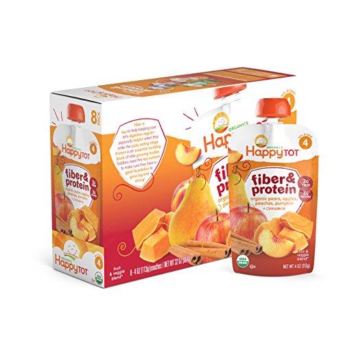 Organic Protein Peaches Pumpkin Cinnamon