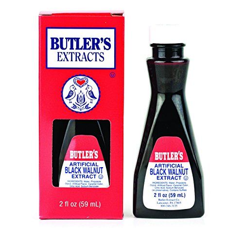 Butler's Artificial Black Walnut Extract, 2 Oz. Bottle (Pack of 2)