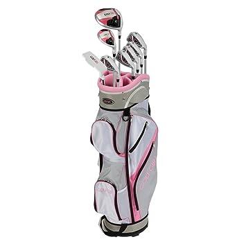 golfgirl fws3 señoras rosa completa todo grafito mano ...