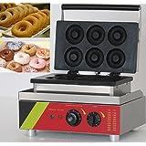 Hanchen Instrument Commercial/Home Use 6pcs NP-4 Waffle Maker Donut Machine Doughnut Baker Iron Fryer 110v/220v