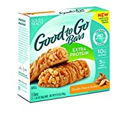 South Beach Double Peanut Butter Good to Go Bars (5 Bars) - Extra Protein