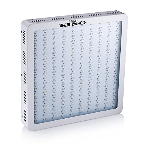 KingTM 1200w Power Full Spectrum 360-860nm 10bands Flower Plants Lamp LED Grow Light for Plants Grow and Bloom