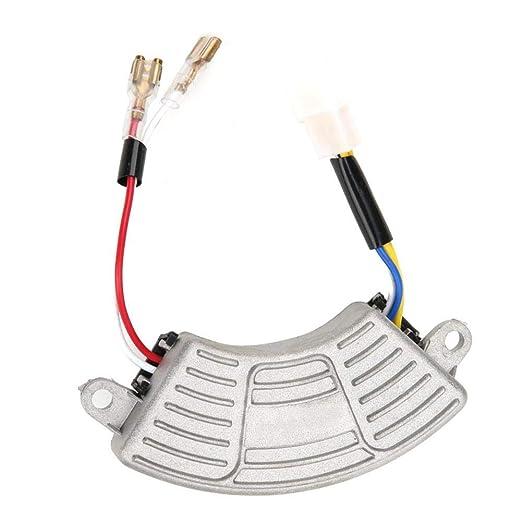 100VDC AVR Generador de regulador de voltaje automático Estabilizador de voltaje en forma de arco para generador de gasolina monofásico de 3.5KW-5KW