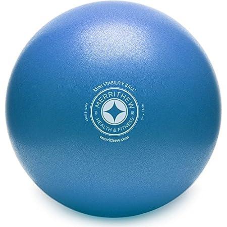 Stott Pilates Mini Stability Ball-Blue, 7.5-Inch ST-06045-p-p