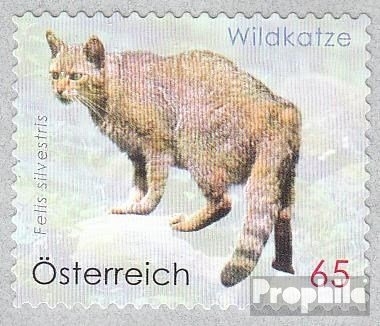 (Austria 2849 (Complete.Issue.) 2010 Postage Stamp: Animal Welfare (Stamps for Collectors) Cats)