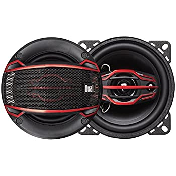Amazon dual electronics dls404 4 way 4 inch car speakers with dual electronics dls404 4 way 4 inch car speakers with 80 watt power 30mm greentooth Images