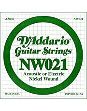 Daddario Nw021 Elektro Ve Akustik Tek Tel, (Re), Nicke