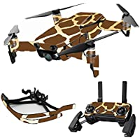 MightySkins Skin for DJI Mavic Air Drone - Giraffe | Max Combo Protective, Durable, and Unique Vinyl Decal wrap cover | Easy To Apply, Remove, and Change Styles | Made in the USA