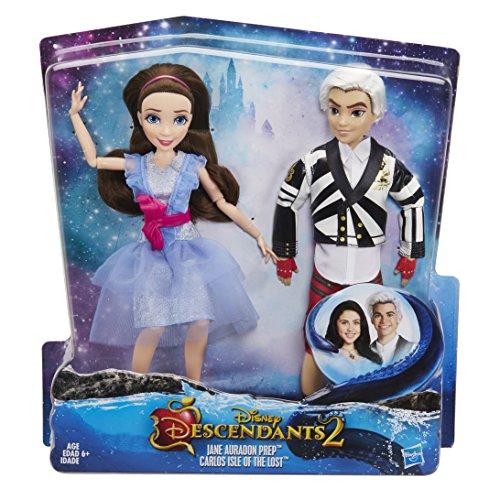Disney Descendants Two-Pack Jane Auradon Prep and Carlos Isle of the Lost