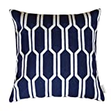 Plain Jane Embroidery Decorative Abstract Chain Pattern Throw - Best Reviews Guide