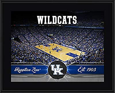 "Kentucky Wildcats 10.5"" x 13"" Sublimated Basketball Plaque - College Team Plaques and Collages"