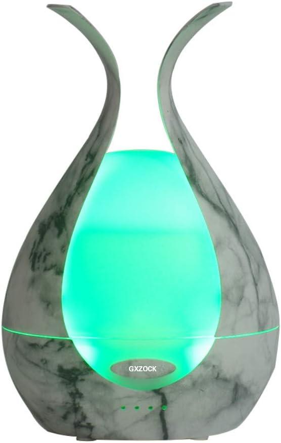 GXZOCK Difusores De Aromaterapia, 200ml Difusor Aceites Esenciales 2020 Nuevo Versión, Tubo para Proteger, 7 Colores, Luz Nocturna, Temporizador, Auto-Apagado, 2 Modos de Dormir: Amazon.es: Salud y cuidado personal