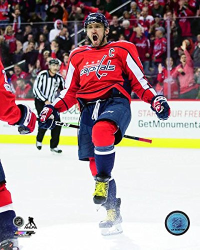 "Alex Ovechkin Washington Capitals 2017-2018 NHL Action Photo (Size: 8"" x 10"")"