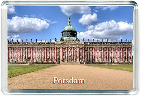 L105 Potsdam Koelkast Magneet Duitsland Reizen Jumbo Koelkast Magneet