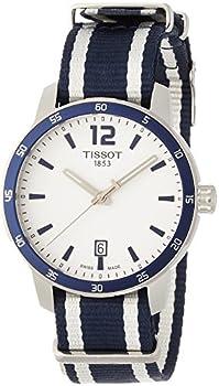 Tissot Quickster Silver Dial Unisex Watch (T0954101703701)