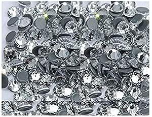 1000 pcs , Montana 3mm,4mm,5mm,6mm DIY Resin Round Flat Back Rhinestones Gems Brilliant 14-Cut Facets Flatback Includes Rhinestones Flat Back Samples from GreatDeal68 2mm 2mm