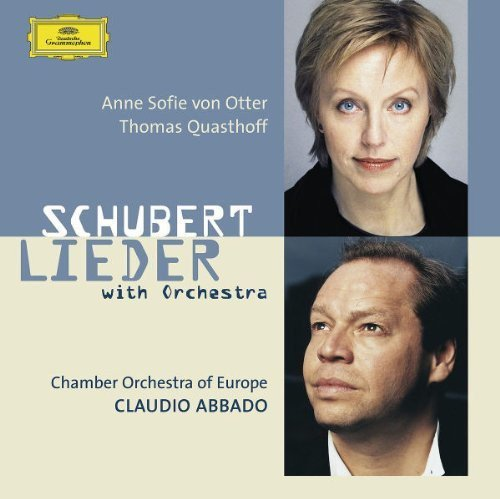 Schubert Lieder with Orchestra by Deutsche Grammophon